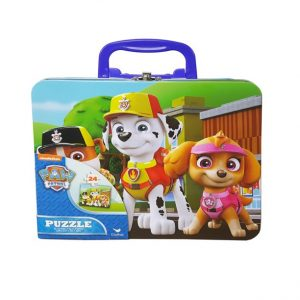 PAW Patrol Puzzle in Tin with Handle 24pc