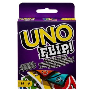 UNO FLIP! Family Card Game, with 112 Cards