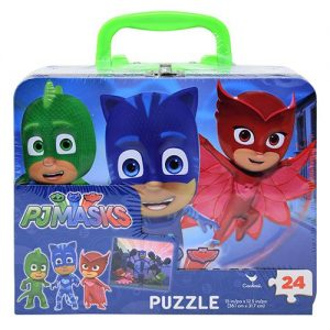 Disney's PJ Masks – 24-Piece Puzzle in Tin with Handle