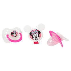 Disney Mickey Mouse Pacifier and Clip