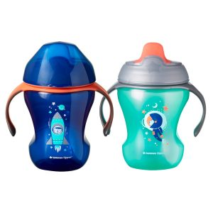Tommee Tippee Infant Trainer Sippee Cup, 7M+  2pk