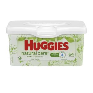 Huggies Natural Care Unscented Baby Wipes Tub