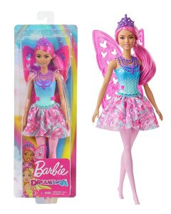 Barbie Dreamtopia Fairy Doll – Pink Hair with Wings