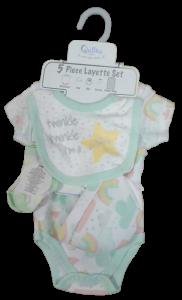 Five-Piece Layette Set Twinkle Little Star