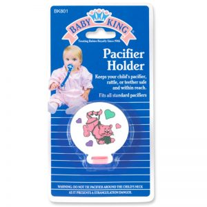 Print Pacifier Holder