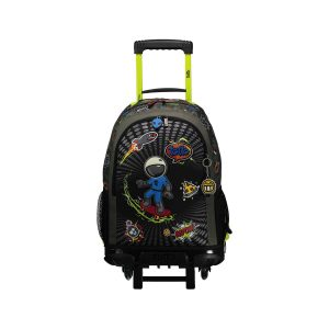 Totto Cool Patch Children's Wheeled Backpack
