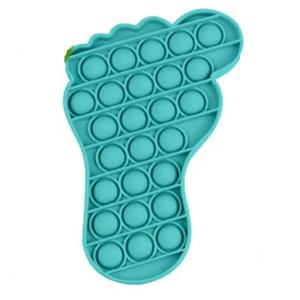 Pop It Fidget Toy Solid  Foot