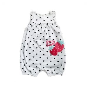 Berry Sweet Baby Romper- 3-6 Months