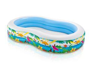 Intex Swim Centre Inflatable Paradise Kids Swimming Pool