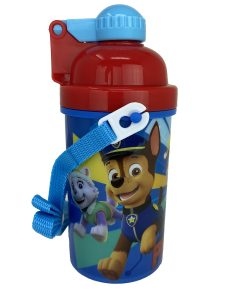Paw Patrol 12oz Water Bottle  with popup lid and strap